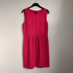 J. Crew | Camille red sleeveless dress